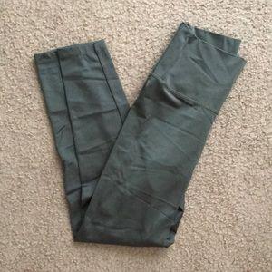 Aerie green leggings